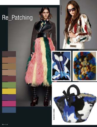 Fur trends forecasting A/W 1617 – Re Patching