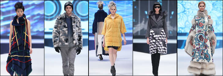 Showing the fashion-forward glamour of furs at Hong Kong Int'l Fur & Fashion Fair