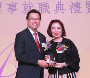 Mr. Wilson Chiu (left) and Ms. Rose Ko (right)